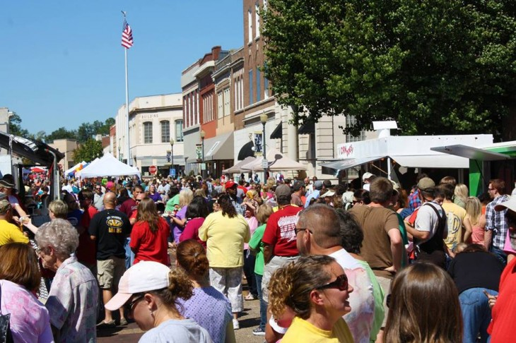 2014 Loblolly Festival Crowd