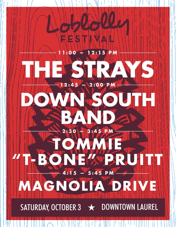 2015 Loblolly Festival Music Line-Up