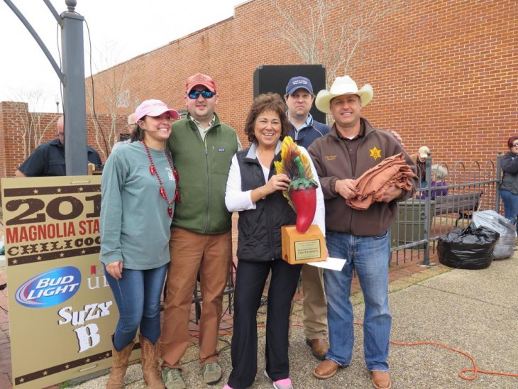 Jones County Sheriff's Department 2015 Chili Cook Off Grand Prize Winners