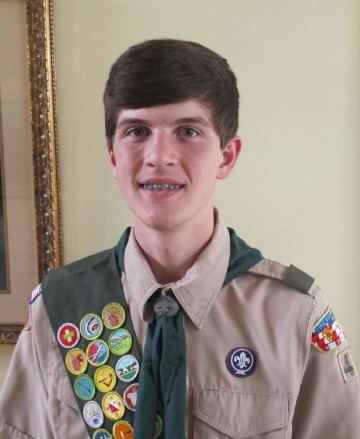 Harrison Pickering Eagle Scout Candidate