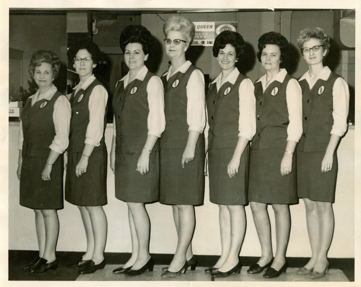 Gentil Lott Furniture Employees In Uniform (1960s)