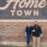 Ben & Erin Napier of HGTV's Home Town in Downtown Laurel, MS