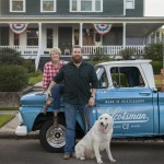 Ben & Erin Napier of HGTV's Home Town in the Laurel, MS historic district